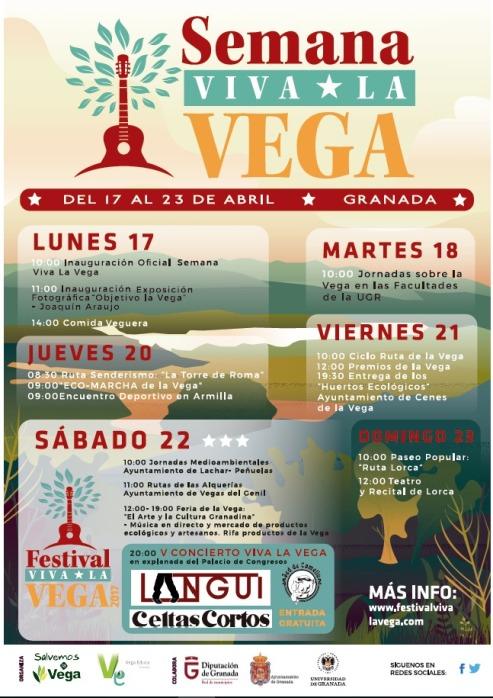 Cartel Semana Viva la Vega